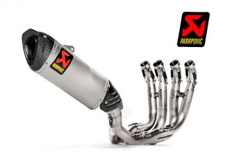 COMPLETE RACING EXHAUST AKRAPOVIC STAINLESS STEEL BMW S 1000 RR 2019-2020