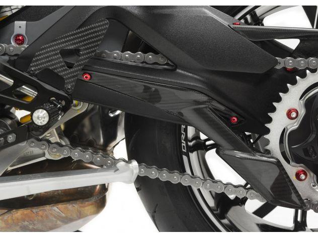 SCREWS LOWER CHAIN GUARD CNC RACING MV AGUSTA F3 675 2012-18