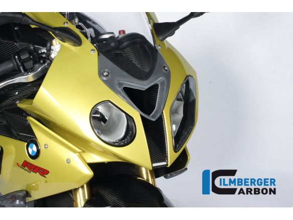 AIR INTAKE FRONT FAIRING CENTRE PIECE CARBON ILMBERGER BMW S 1000 RR 2010-2011 STRADA