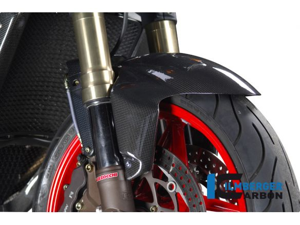 FRONT MUDGUARD CARBON ILMBERGER MV AGUSTA F4 1000 2004-2013
