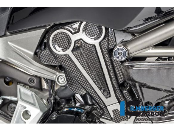 AIR OUTLET ON BELT COVER GLOSSY CARBON ILMBERGER DUCATI XDIAVEL / S 2018-2019
