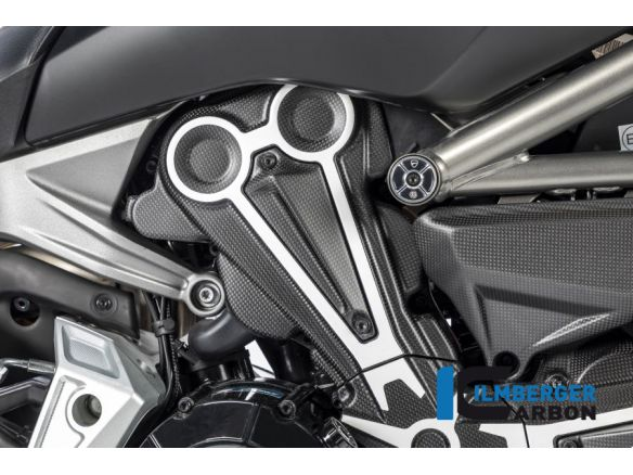 AIR OUTLET ON BELT COVER MATT CARBON ILMBERGER DUCATI XDIAVEL / S 2016-2017