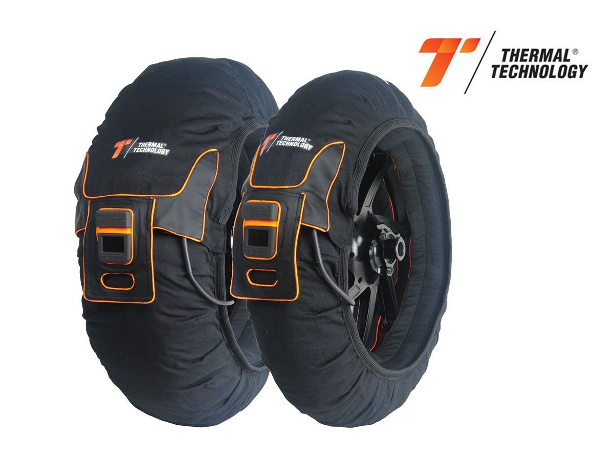 TYRE WARMERS PAIR TRIZONE THERMAL TECHNOLOGY SIZE XL