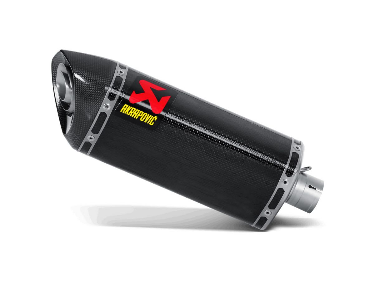 EXHAUST SILENCER AKRAPOVIC ESAGONALE CARBON YAMAHA R6 08-09 APPROVED
