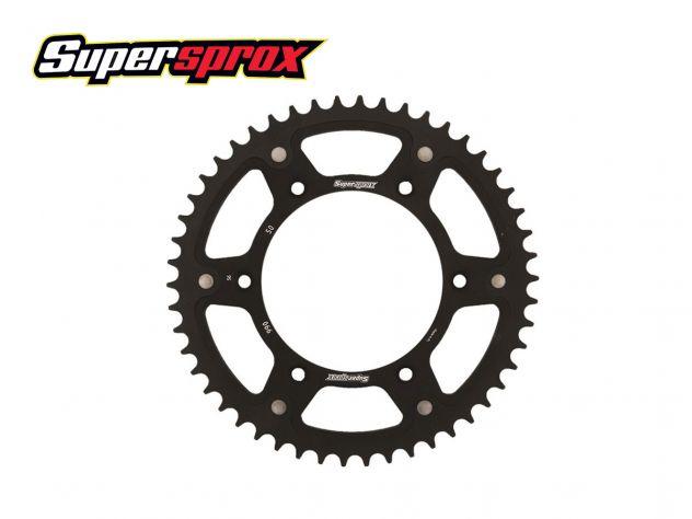 SPROCKET STEALTH 46 SUPERSPROX BLACK APRILIA SXV 550 2005-2014