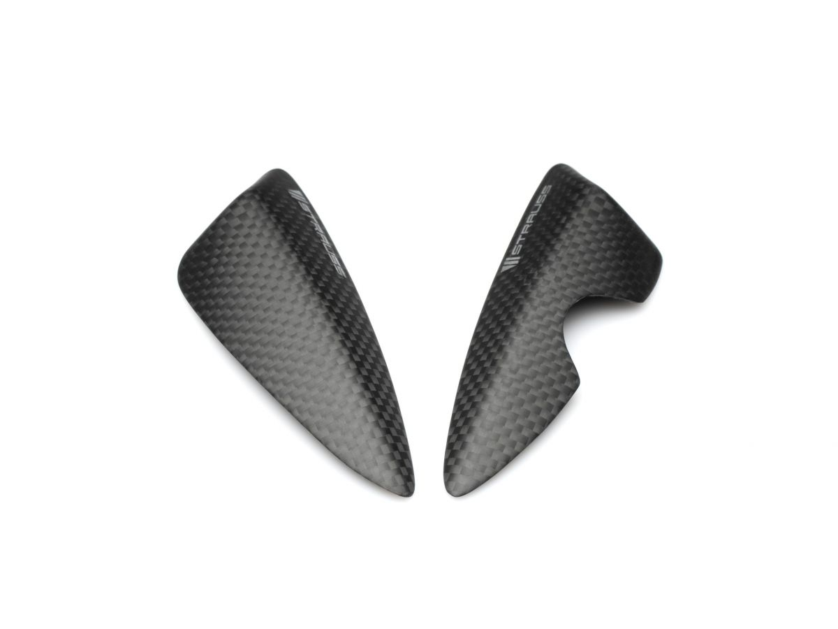 STRAUSS PAIR TAIL CARBON PROTECTIONS TRIUMPH STREET TRIPLE 675 RX 2015-2017