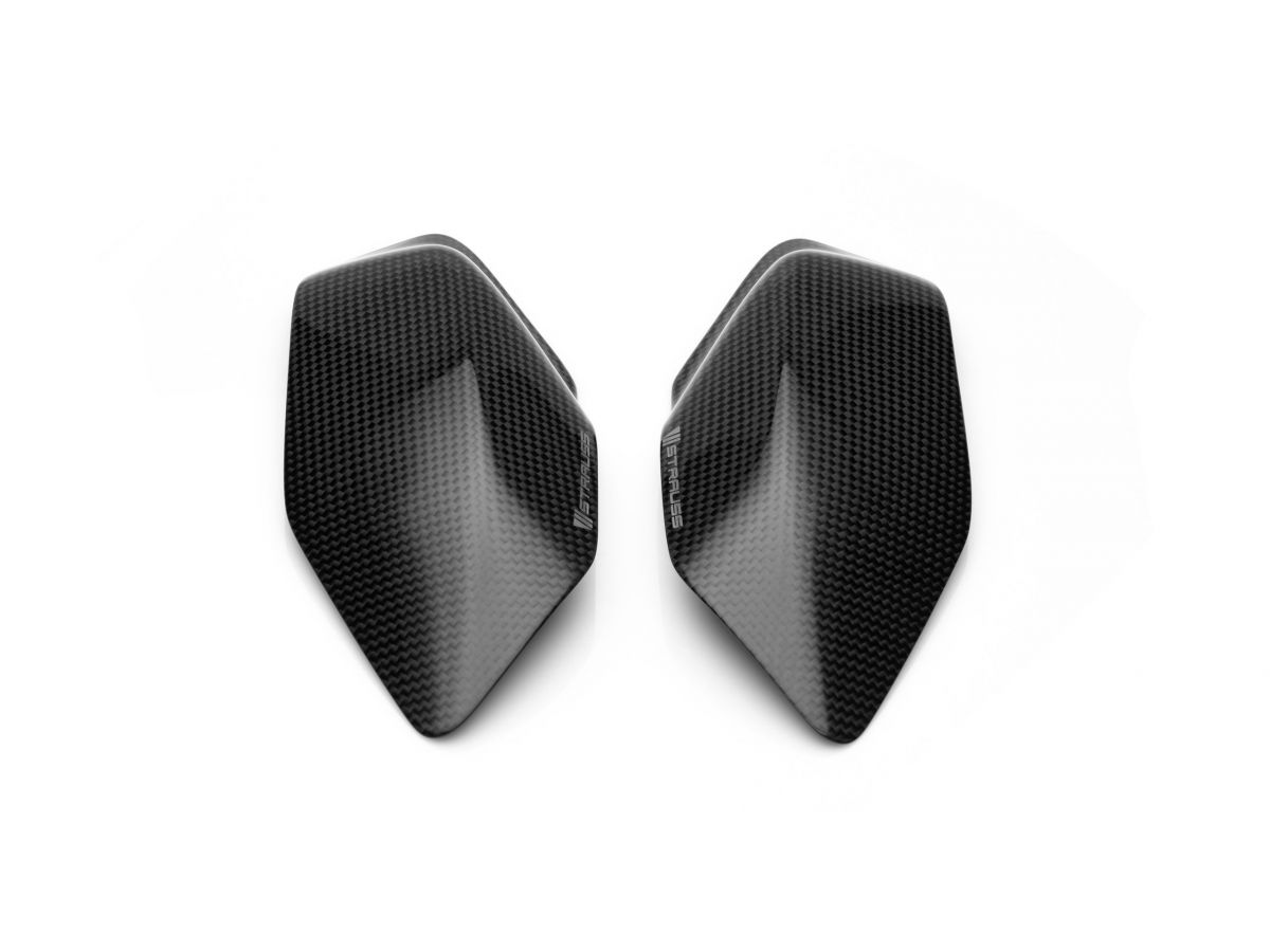 STRAUSS PAIR TANK CARBON PROTECTIONS DUCATI PANIGALE V4 / S / R