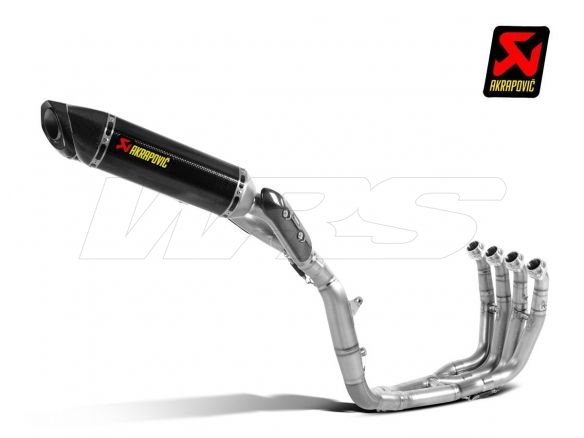 COMPLETE EXHAUST EVOLUTION TITANIUM AKRAPOVIC YAMAHA YZF R1 09-14 APPROVED
