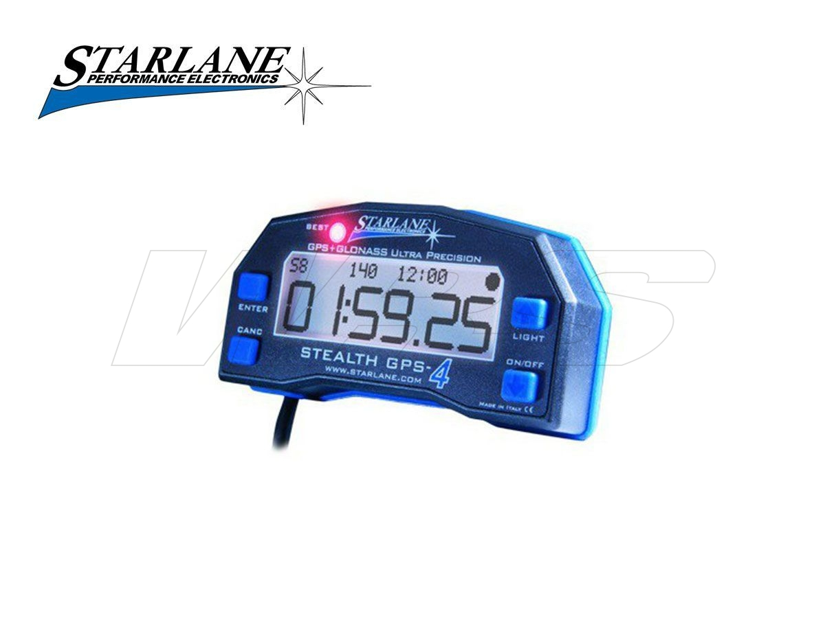 CRONOMETRO GPS USB STARLANE STEALTH GPS4 LITE KAWASAKI ZX-6 R 1995-2019