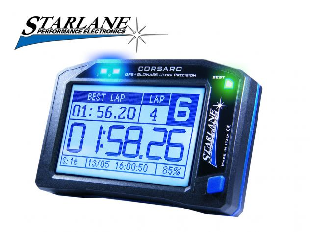 GPS LAPTIMER STARLANE CORSARO TOUCH SCREEN DUCATI 999 / 996 / 998