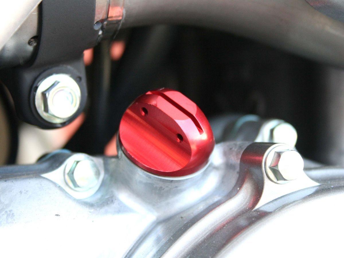 COPPIA TAPPI OLIO MOTORE E CAMBIO WRS HONDA CRF 250 / 450 FINO 2008