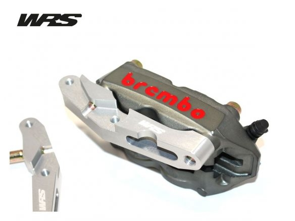 COPPIA FLANGE WRS ATTACCO RADIALE 100MM BMW R 1200 R  / S 2011-2013