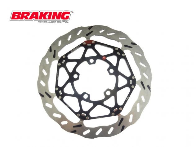 BY4136E  DISCO ANTERIORE SX BRAKING EPTA OFF   SUZUKI RMX 450 2010-2012