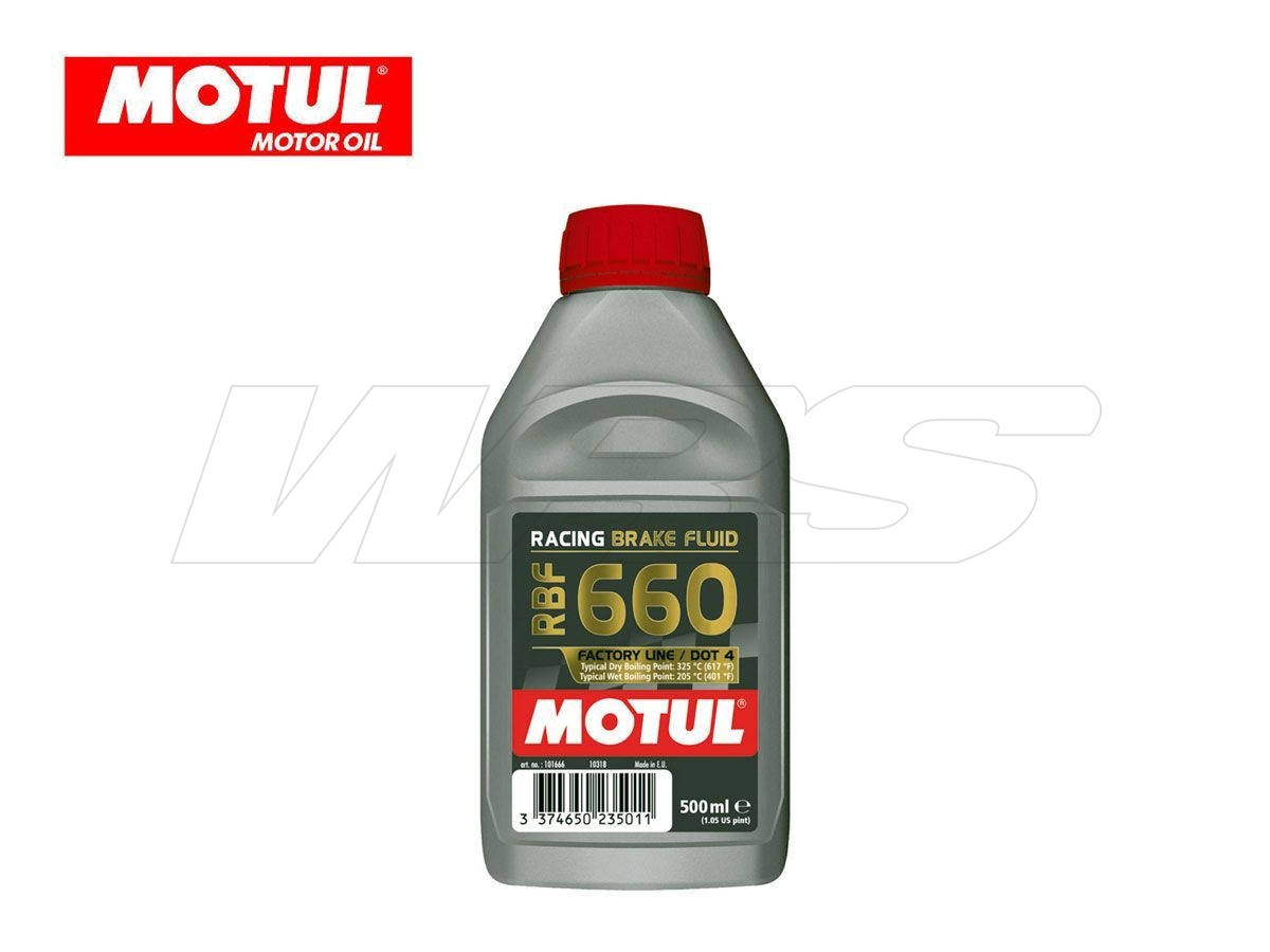 RBF 660 MOTUL BRAKE FLUID FACTORY LINE 500 ML 100% SYNTHETIC