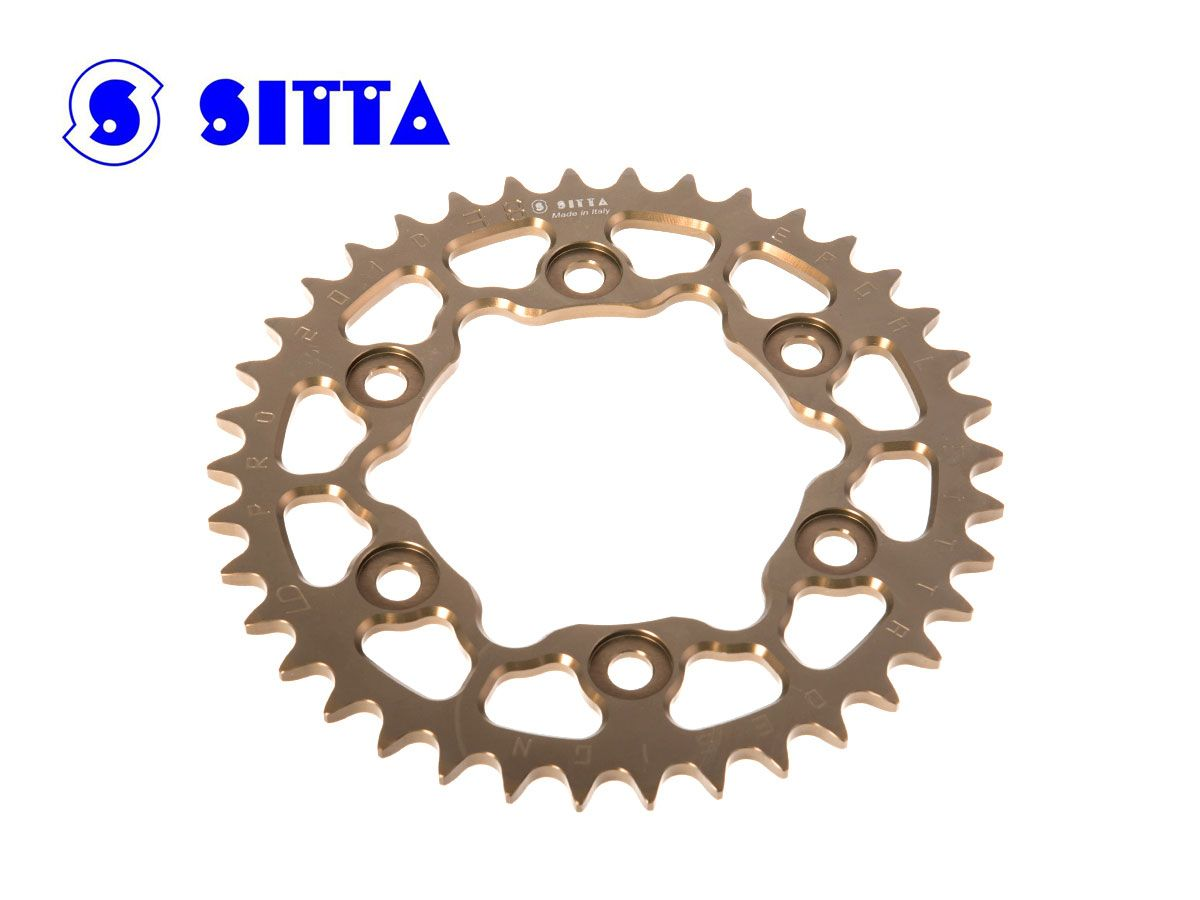 SITTA ERGAL REAR SPROCKET SUZUKI RM 125  1978