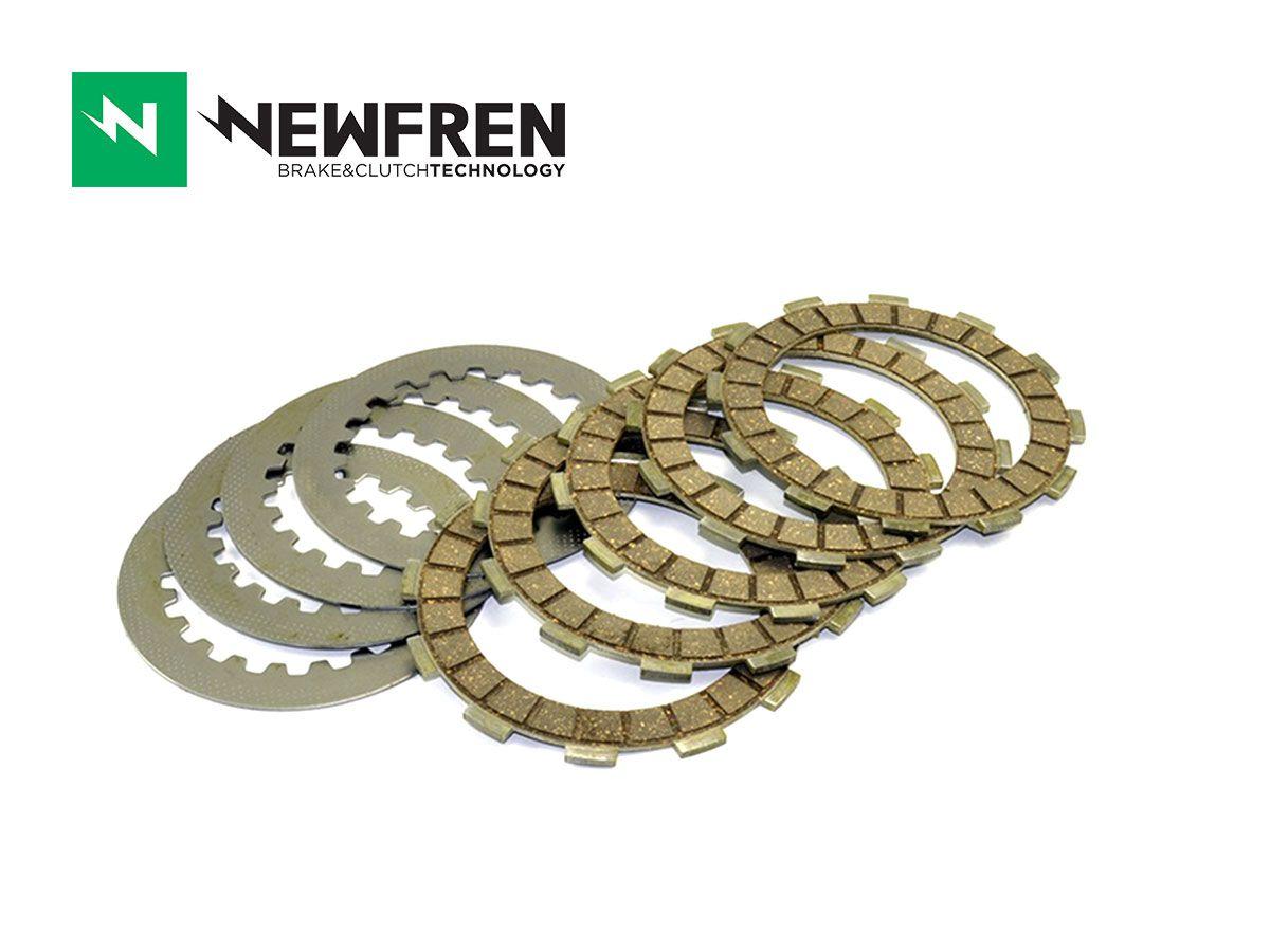 CLUTCH PLATES SET NEWFREN SUZUKI RMX 450 10-12