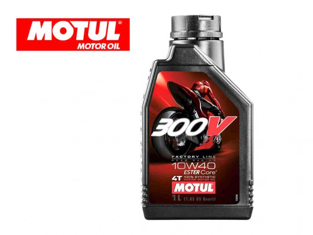 ENGINE OIL 300V FACTORY LINE ROAD...