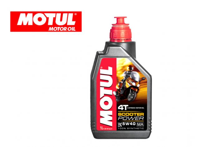 ENGINE OIL SCOOTER POWER 4T MOTUL...