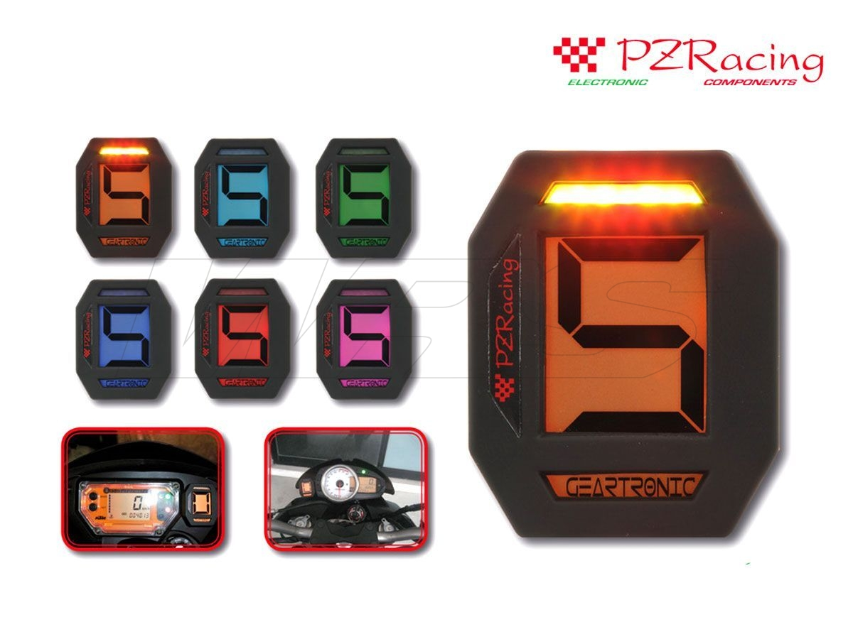 UNIVERSAL PZ REACING GEAR INDICATOR GEARTRONIC WITH FLASHLIGHT