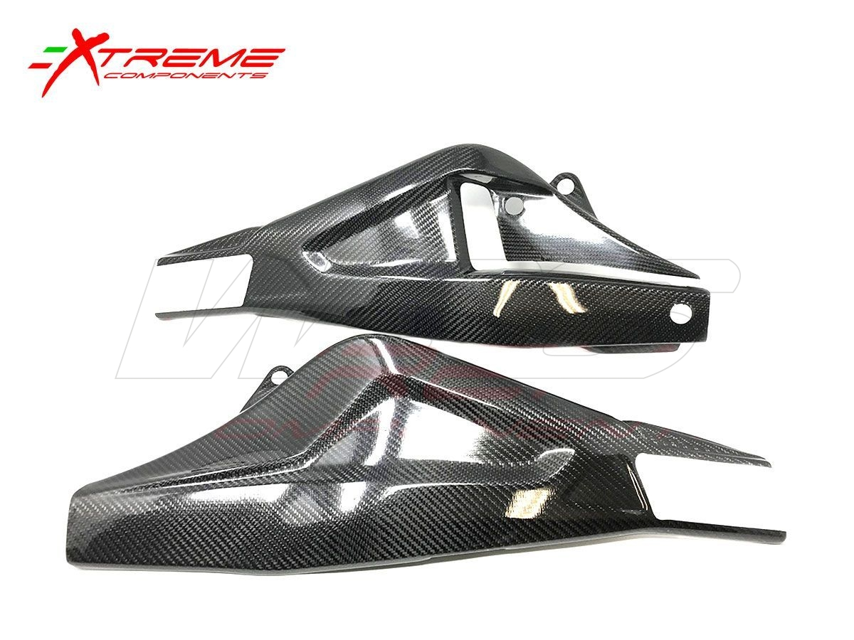 EXTREME COMPONENTS CARBON SWINGARM PROTECTIONS BMW S 1000 RR 2019-2020