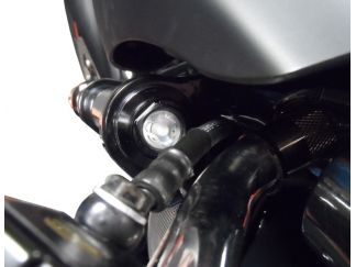 HD007KB12WO KIT MOLLE + TAPPI FORCELLA BITUBO HARLEY NIGHT ROD SPECIAL 07-11