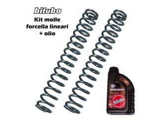 MT24 KIT MOLLE FORCELLA BITUBO TRIUMPH SPEED TRIPLE 1050 2005-2010