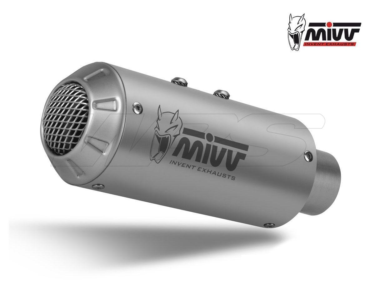 TERMINALE MIVV SLIP-ON M3 ACCIAIO INOX KAWASAKI Z 125 2019