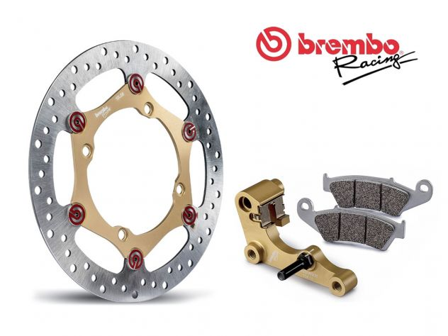 BREMBO OVERSIZE FRONT BRAKE DISC KIT...
