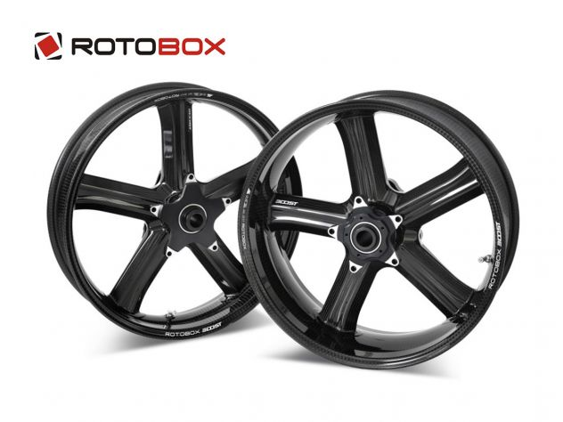 PAIR CARBON RIMS ROTOBOX BOOST BMW S...