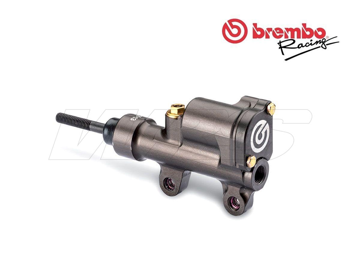 BREMBO RACING HINTERE BREMSPUMPE PS 13 CNC MIT SPITZE