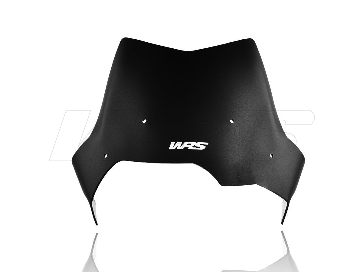 WRS SPORT WINDSCREEN MATT BLACK BMW F 650 GS / F 800 GS 2006-2017