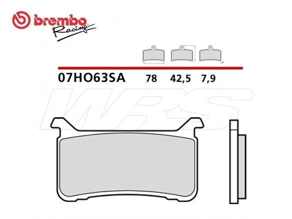 PASTIGLIA FRENO ANTERIORE SA BREMBO HONDA VFR F ABS / VFR X CROSSRUNNER ABS 800