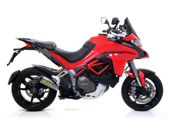 TERMINALE INDY RACE ARROW ALLUMINIO DARK DUCATI MULTISTRADA 1200 / S 2015-2017