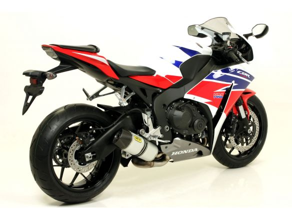 TERMINALE INDY ALLUMINIO DARK PER COLLETTORI ARROW HONDA CBR 1000 RR 2014-2016
