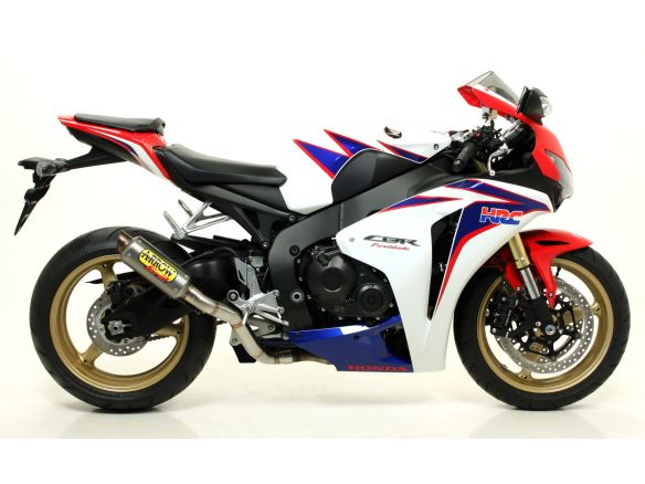 TERMINALE INDY RACE ARROW ALLUMINIO DARK HONDA CBR 1000 RR 2008-2011