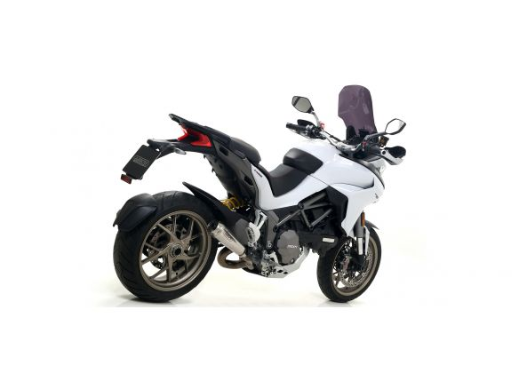 TERMINALE INDY RACE ARROW ALLUMINIO WHITE DUCATI MULTISTRADA 1260 / S 2018-2019