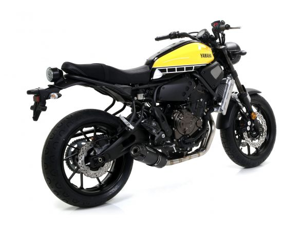 TERMINALE JET RACE ARROW ACCIAIO DARK YAMAHA XSR 700 2016-2018