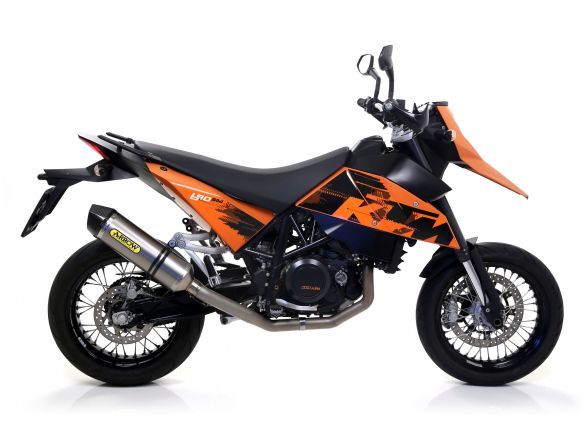 TERMINALE RACE TECH ARROW ALLUMINIO KTM 690 SM 2006-2012