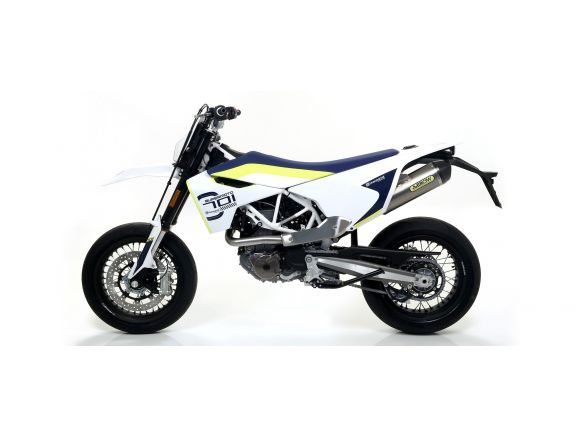 TERMINALE RACE TECH ARROW ALLUMINIO DARK HUSQVARNA 701 ENDURO/SUPERMOTO 2017-18