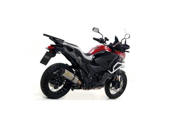 TERMINALE RACE TECH ARROW ALLUMINIO DARK CARBONIO HONDA CROSSTOURER 1200 2012-19