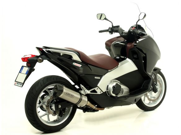 TERMINALE RACE TECH ARROW ALLUMINIO DARK CARBONIO HONDA NC 700 D INTEGRA 2012-13