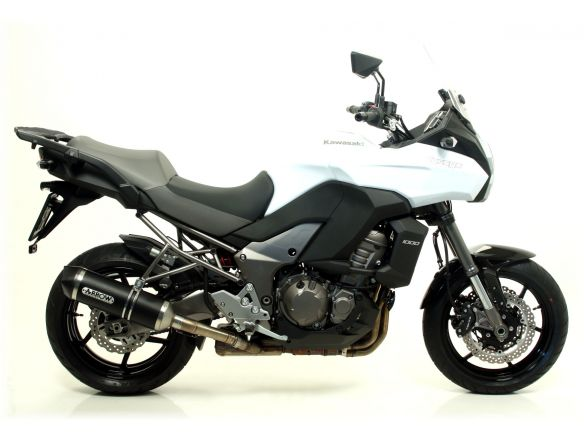 TERMINALE RACE TECH ARROW ALLUMINIO DARK CARBONIO KAWASAKI VERSYS 1000 2012-2014