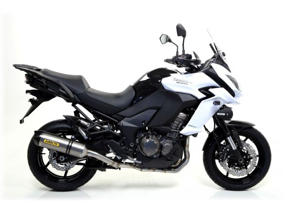 TERMINALE RACE TECH ARROW ALLUMINIO DARK CARBONIO KAWASAKI VERSYS 1000 2015-2016