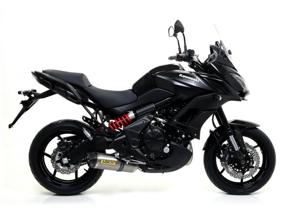 TERMINALE RACE TECH ARROW ALLUMINIO DARK CARBONIO KAWASAKI VERSYS 650 2015-2016
