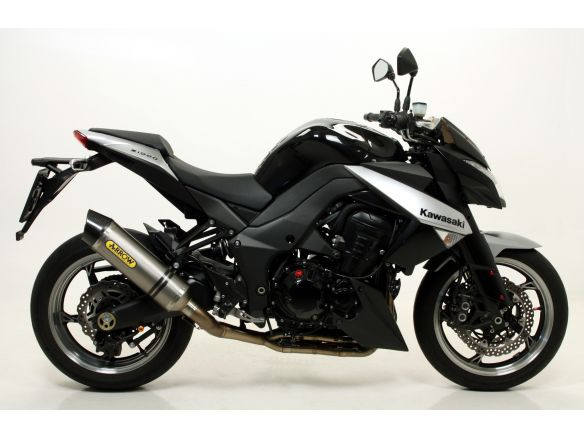 TERMINALE RACE TECH ARROW ALLUMINIO DARK CARBONIO KAWASAKI Z 1000 2010-2013