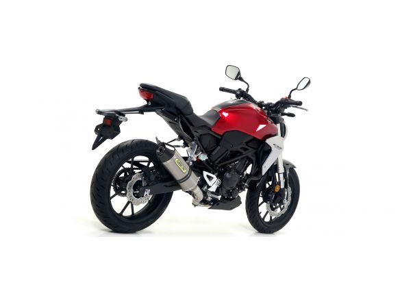 TERMINALE RACE TECH ARROW ALLUMINIO DARK CARBONIO HONDA CB 300 R 2018-2019