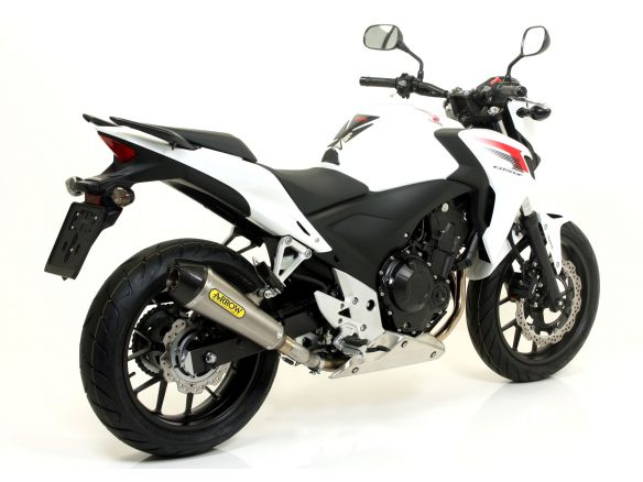 TERMINALE RACE TECH ARROW ALLUMINIO CARBONIO DARK HONDA CB 500 F 2013-2015
