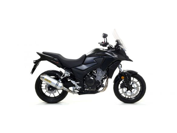 TERMINALE RACE TECH ARROW ALLUMINIO DARK CARBONIO HONDA CB 500 X 2017-2018