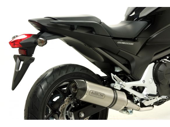 SILENCER RACE TECH ARROW ALUMINUM DARK CARBON HONDA NC 700 S 2012-2014
