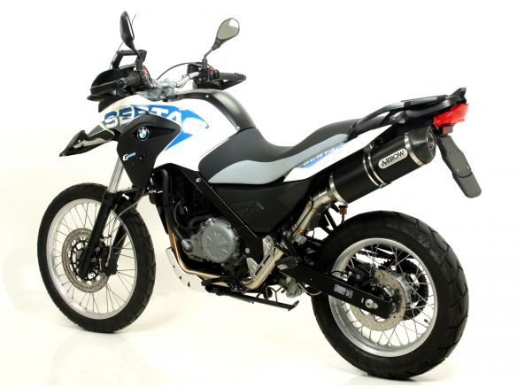 TERMINALE RACE TECH ARROW ALLUMINIO DARK BMW G 650 GS SERTAO 2012-2014